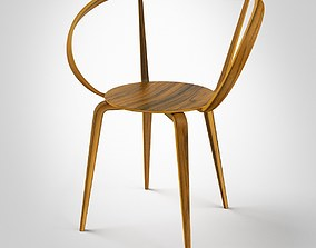 Pretzel Chair by George Nelson 3D