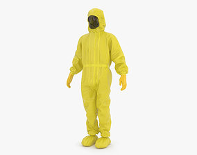 Hazmat Worker clothes 3D model