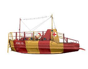 3D asset Air Sea Rescue Craft ASR 10 World War