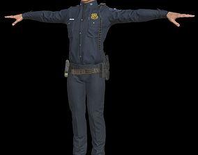 3D asset Police 1