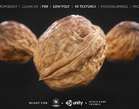 Walnut Fruit - Nut Fruit - Photoscan 3D asset