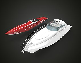 3D printable model RC boat Yacht