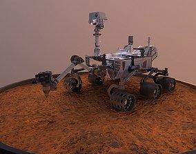 Curiosity - Mars Rover 3D asset