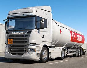 Scania R 730 LNG Tanker 3D model