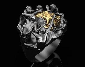 Ring death of the goddess 3D print model