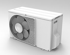 3D model fan Air Conditioning