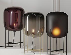 3D Oda Medium Floor Lamp by Pulpo