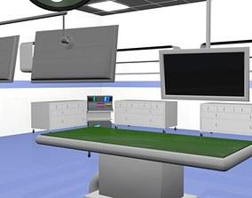 HIGH TECH HOSPITAL OPERATION ROOM 3D