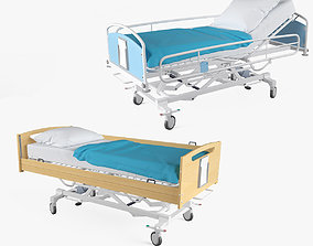 equipment Hospital Bed Set 3D