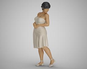 Water Splash Girl 2 3D printable model