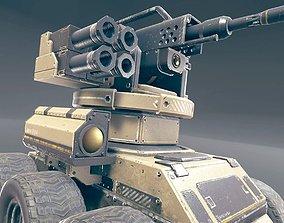 3D model Combat robot
