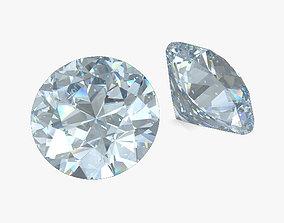 Diamond 3D model jewelry