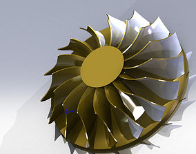 3D model Compressor wheel