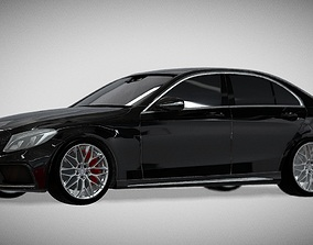 realtime Mercedes-Benz AMG C63 S 3D model