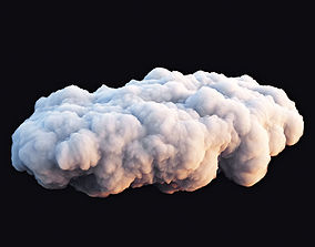 Realistic 3D Clouds - Voxels | CGTrader