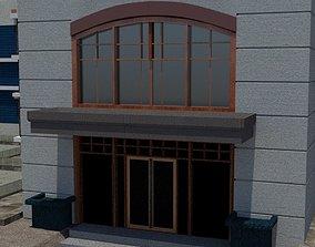 Commerical Building 3D model