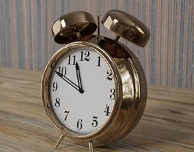 Vintage Alarm clock 3D asset