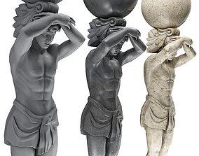 Atlant Sculpture 3D model