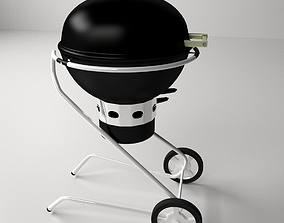 Charcoal Grill 3D