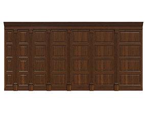 Wood panels 06 3D asset