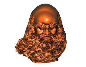 Bodhidharma head 3D print model