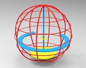 3D print model Playground Carousel 2