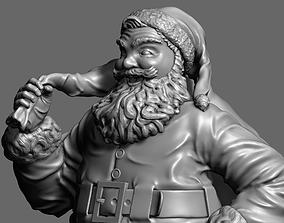 zbrush Santa Claus 3D printable model