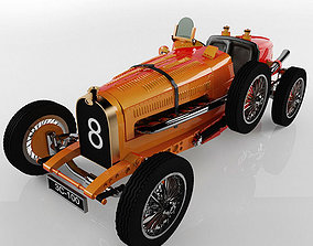 Old Bugatti Car 35 1924 3D printable model