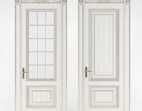 interior door 3D asset VR / AR ready