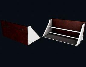 3D model Shoes shelf