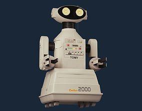 3D Omnibot 2000 toy