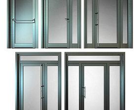 3D metal Metal fire doors