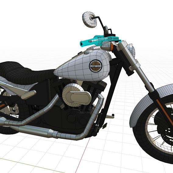 Custom Harley Davidson fs2