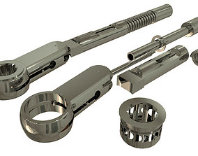 Implant Torque Wrench 3D model