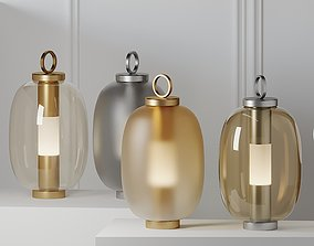 COLLEZIONE LUCERNA Lantern Outdoor lamp 3D model