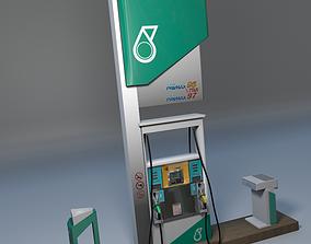 3D Petronas Fuel Dispenser Unit