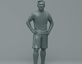 3D printable model Messi
