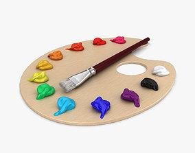 Painting Palette 3D