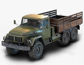 3D model Zil 131