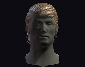 hair style 7 3D asset