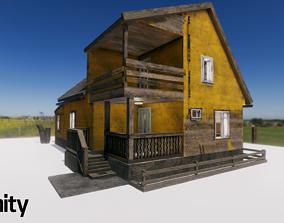 Summerhouse - Furnished 3D asset VR / AR ready