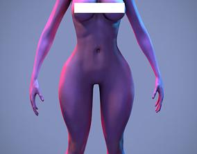 3D model alien female
