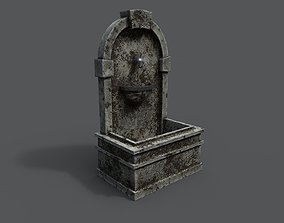 Fountain 3D model VR / AR ready PBR