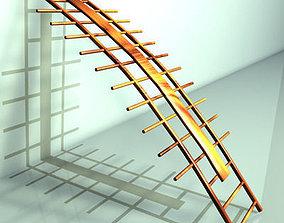 3D orthopaedic wall bars
