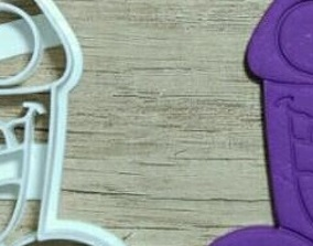 Crazy penis cookie cutter 3D print model