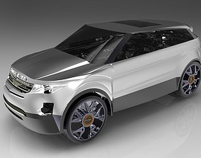 3D range Range Rover Evoque