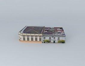 3D model Banco de la Nacion Argentina