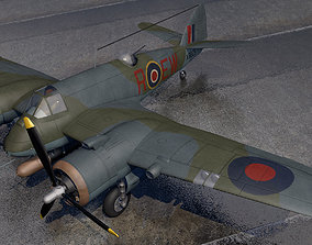 Bristol Beaufighter Mk-10 3D