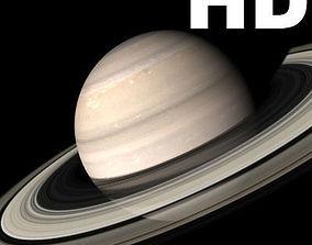 animated Incredible HD Saturn planet - 3d model saturn