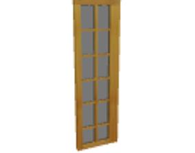 Patio side door 3D